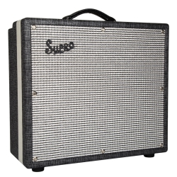 "Supro 1699R STATESMAN Classic Series 2-Channel 50-Watt 1x12"" Tube Guitar Amplifier Combo"