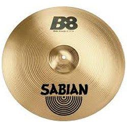 "Sabian 31606B B8 Pro Thin 16"" Crash Cymbal"