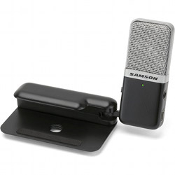 Samson GOMICB Portable USB Condenser Microphone in Black Casing