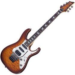 Schecter 1993-SHC Banshee-6 FR Extreme with Floyd Rose 6 String Electric Guitar - Vintage Sunburst