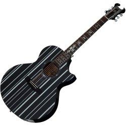 Schecter 3700-SHC Synyster Gates-AC GA SC-6 String Acoustic Guitar - Black
