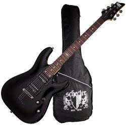Schecter 3801-SHC C-1 SGR 6 String Electric Guitar - Midnight Satin Black
