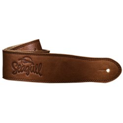 Seagull 042104 The Hollywood Series Cognac Guitar Strap