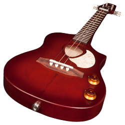 Seagull 046348 Semi-Gloss Burst Steel Acoustic Electric Ukulele