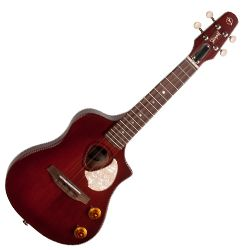 Seagull 046355 Semi-Gloss Burst Nylon Acoustic Electric Ukulele