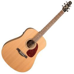 Seagull 046393 S6 Original QIT 6 String RH Electric Acoustic Guitar