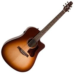 Seagull 046478 Entourage Autumn Burst CW QIT 6 String RH Electric Acoustic Guitar
