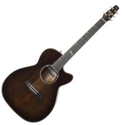 Seagull 047741 Artist Mosaic CH CW GT EQ w Tric  6 String RH Acoustic Electric Guitar - Bourbon Burst
