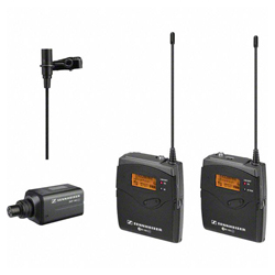 Sennheiser ew 100 ENG G3-B Flexible ENG Wireless Lavalier Microphone Set for Indoor and Outdoor Use (626-668 MHz) (discontinued clearance)