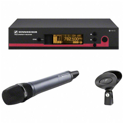 Sennheiser ew 145 G3-A Vocal Wireless Super-Cardioid Handheld Microphone Set for the 1.8 GHz Band (516-558 MHz)