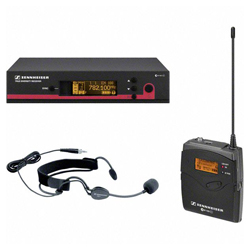 Sennheiser ew 152 G3-A Powerful Wireless Cardioid Headset Microphone Set (516-558 MHz)