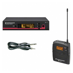 Sennheiser EW172G3-G Wireless Instrument Set with Cable Emulator for Individual Sound Adjustment (566-608 MHz)