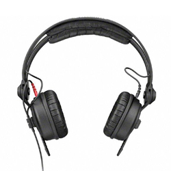 Sennheiser HD 25 LIGHT On Ear DJ Headphones with Simplified Headband and Straight Cable