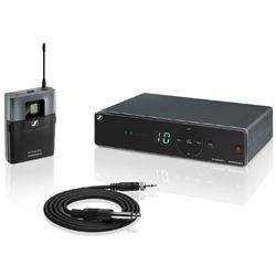 Sennheiser XSW 1-CI1-B Wireless Instrument Set with CI 1 Instrument Cable and EM XSW 1 Receiver (614-638 MHz)