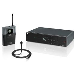 Sennheiser XSW 1-ME2-B Wireless Presentation Set with ME2-2 Lav and EM XSW 1 Receiver (614-638 MHz)