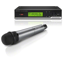 Sennheiser XSW35-B Dynamic Cardioid Handheld Wireless Microphone Set (614-638 MHz) discontinued clearance
