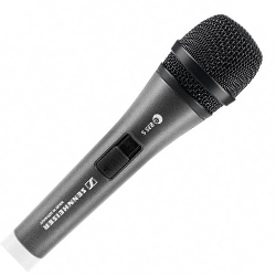 Sennheiser e 835-S Live Vocal Dynamic Cardioid Microphone with On/Off Switch