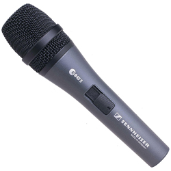 Sennheiser e 845-S Dynamic Super-Cardioid Vocal Microphone with On/Off Switch