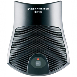 Sennheiser e912SBK Condenser Boundary Plate Microphone in Black with On/Off/Programmable Switch