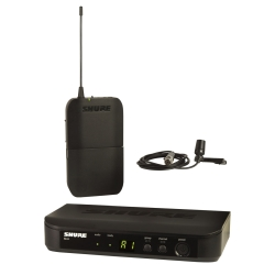 Shure BLX14/CVL-H9 Wireless Lavalier System with CVL Lavalier Microphone