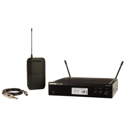 Shure BLX14R-H10 WA302 Instrument Cable Bodypack Wireless System (542.125 – 571.800 MHz)