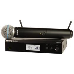 Shure BLX24R/B58-H9 Beta58A Handheld Wireless System (512.125 – 541.800 MHz)