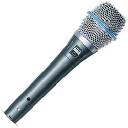 Shure BETA87C Condenser Vocal Microphone