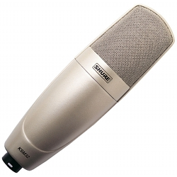 Shure KSM32/SL Embossed Single-Diaphragm Side-Address Microphone (Champagne)