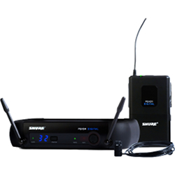 Shure PGXD14/85-X8 Lavaliere Wireless System with PGXD1, PGXD4, and WL185
