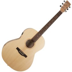 Simon & Patrick 039739 Trek Nat Folk Solid Spruce SG Isyst Acoustic Electric Guitar
