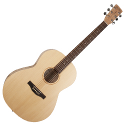Simon & Patrick 039722 Trek Natural Folk Solid Spruce Acoustic 6 String Guitar