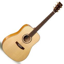 Simon & Patrick 033553 Showcase Flame Maple Acoustic Electric RH 6 String Guitar