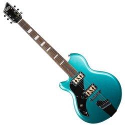 Supro 2020LTM - Westbury Left handed 6 String Electric Guitar - Turquoise Metallic