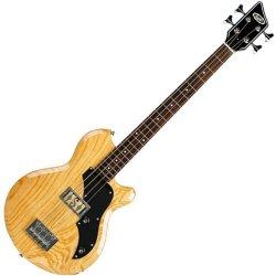 Supro 2041AN Huntington I 4-String Short Scale Bass - Natural Ash