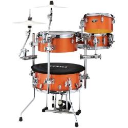 Tama CJB46C-BOS Cocktail-JAM Drum Kit-Bright Orange Sparkle