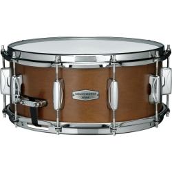 """Tama DKP146-MRK Soundworks 6"""" x 14"""" Snare Drum-Matte Brown Kapur"""