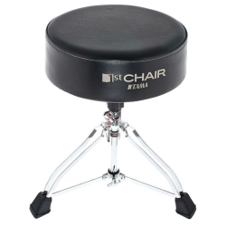 Tama HT830B 1st Chair Round Rider XL Trio Drum Throne-Black Seat