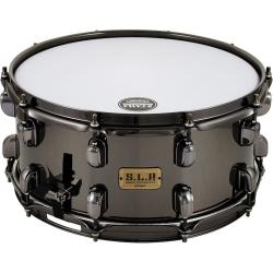 """Tama LBR1465 S.L.P. Series Snare - 6.5"""" x 14"""" - Black Brass"""