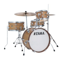 Tama LJL48H4-SBO Club Jam 4-Piece Drum Kit complete with Hardware and Throne (open box clearance display model)