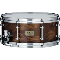 "Tama LSP146WSS S.L.P. Fat Spruce 6""x14"" Snare Drum-Wild Satin Spruce Finish"