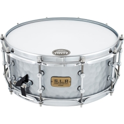 """Tama LST1455H S.L.P. Series 5.5"""" x 14"""" Snare-Hammered Steel"""