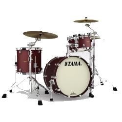Tama MA30CMS-FBM Starclassic Maple 3-Piece Shell Pack-Flat Burgundy Metallic