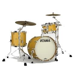 Tama MA30CMS-SAM Starclassic Maple 3-Piece Shell Pack-Satin Aztec Gold Metallic
