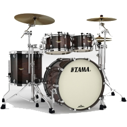 Tama MA42TZS-DMB Starclassic Maple 4-Piece Shell Pack-Dark Mocha Burst