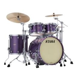 Tama MA42TZS-DPP Starclassic Maple 4-Piece Shell Pack-Deeper Purple