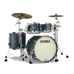 Tama MA42TZS-FDG Starclassic Maple 4-Piece Shell Pack-Flat Deep Green Metallic