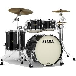 Tama MA42TZS-PBK Starclassic Maple 4-Piece Shell Pack-Piano Black