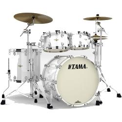 Tama MA42TZS-PWH Starclassic Maple 4-Piece Shell Pack-Piano White