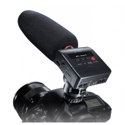 Tascam DR-10SG Camera-Mountable Audio Recorder with Shotgun Microphone