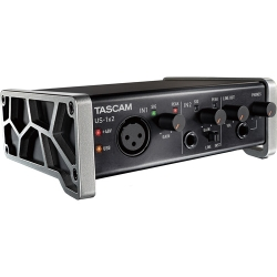 Tascam US-1X2-CU 1 In 2 Out 2-Channel USB Audio Interface